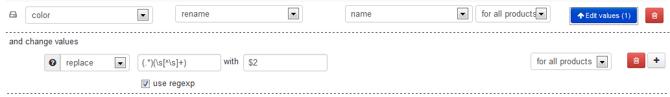 Vul het kleur veld voor je Google Shopping feed vanuit je titels met gebruik van Regular Expressions