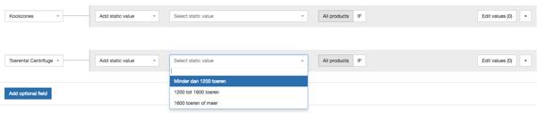 AdMarkt Categorie Specifieke Attributen
