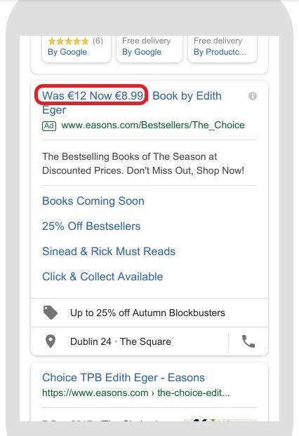 feedgestuurde-tekstadvertenties-met-prijsdaling