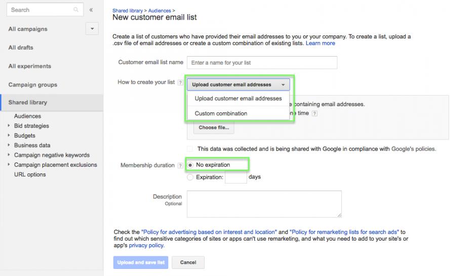 google-customer-match-google-shopping-upload-lijst