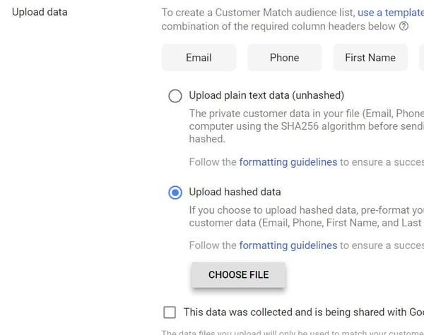 Google Shopping feed marketing tips voor black friday 2018 Google customer match upload lijst