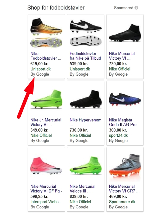Google Shopping Product Listings by Google.