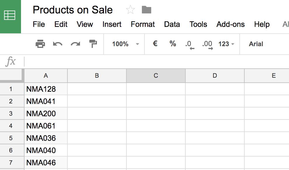 in-list-url-google-sheets